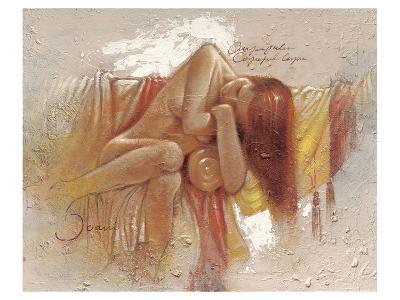 Relaxing-Joani-Art Print