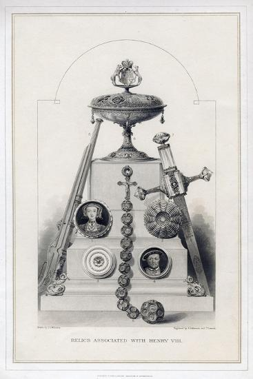 Relics Associated with Henry VIII-R Anderson-Giclee Print