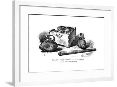 Relics from Cook's Expeditions, 1886-W Macleod-Framed Giclee Print