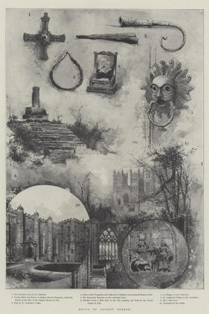 Relics of Ancient Durham--Giclee Print