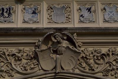 Relief Decoration, Detail from Lednice Castle--Photographic Print