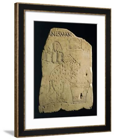 Relief Depicting Bears, Jugglers and Tumblers,--Framed Giclee Print