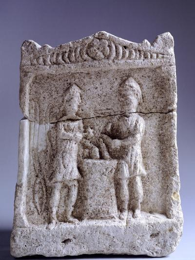 Relief Depicting Blacksmiths, from Korce, Albania in Illyria--Giclee Print