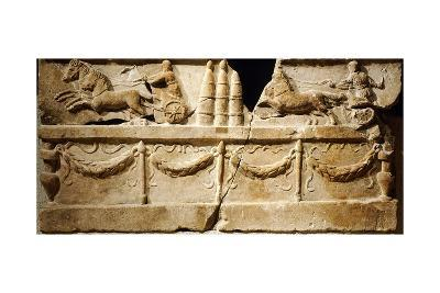Relief Depicting Circus Games with Chariot Racing--Giclee Print