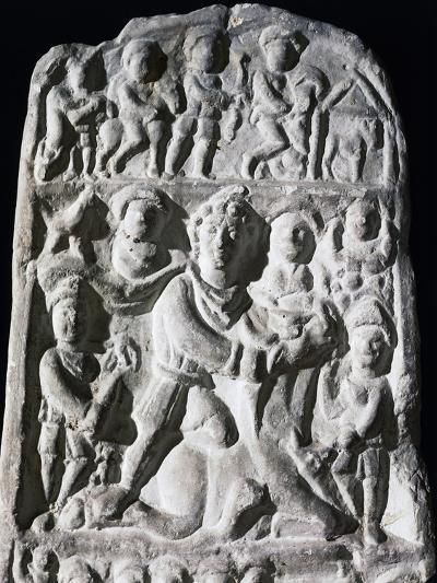 Relief Depicting Mithras Killing Bull, Overlooked by Sun, Moon and Two Other Characters--Giclee Print