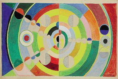 Relief-Disques, 1936-Robert Delaunay-Giclee Print