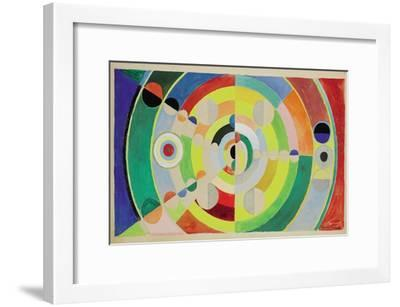 Relief-Disques, 1936-Robert Delaunay-Framed Giclee Print