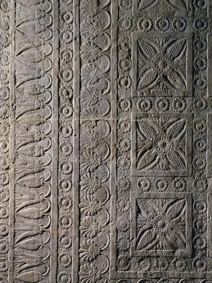 Relief from Ashurbanipal's Palace in Nineveh, Iraq--Giclee Print