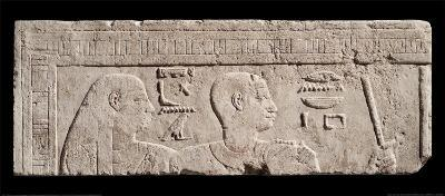 Relief of Heads of a Man and a Woman--Art Print