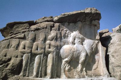 Relief of Shapur I, Naqsh-I-Rustam, Iran-Vivienne Sharp-Photographic Print