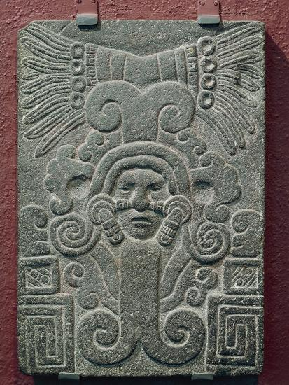 Relief on Stone Depicting Birth of Quetzalcoatl, Mexico--Giclee Print
