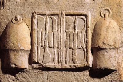 Relief Representing Surgical Instruments, from Asklepeion at Athens B.C.--Giclee Print