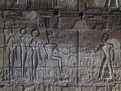 Relief, Temple of Amun, Karnak Temple Complex--Photographic Print