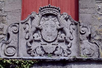 Relief with Crest, Ecaussinnes-Lalaing Castle, Belgium--Giclee Print