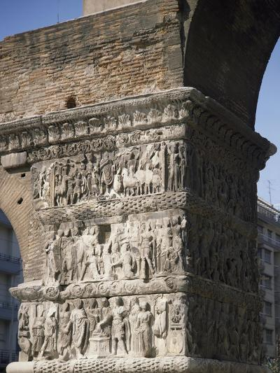 Reliefs Celebrating the Victories of Emperor Galerius Valerius Maximus over the Persians in 303--Giclee Print