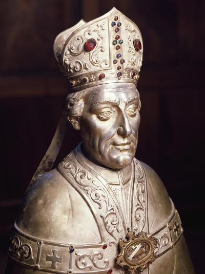 Reliquary Bust of Blessed Americo--Giclee Print