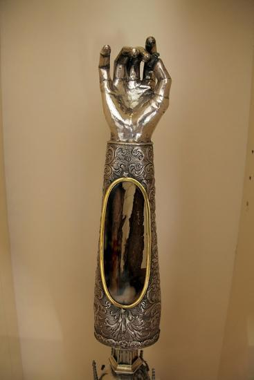 Reliquary of St Agatha's Arm in Palermo Cathedral, Sicily--Giclee Print