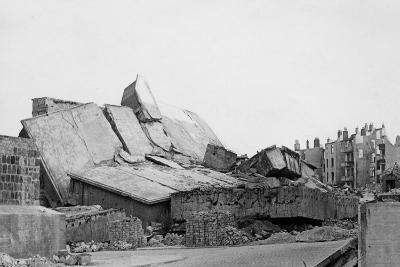 Remains of a U-Boat Pen, Kiel, Germany, C1945-C1965--Giclee Print