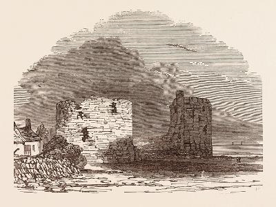 Remains of Flint Castle, Located in Flint, Flintshire, UK--Giclee Print