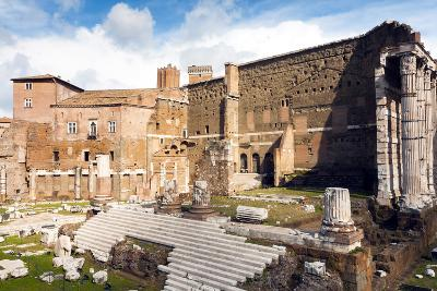 Remains of Forum of Augustus with the Temple of Mars Ultor, Rome, Latium, Italy, Europe-Nico Tondini-Photographic Print