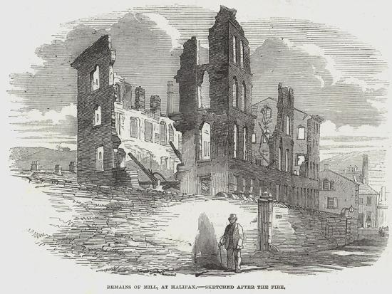 Remains of Mill, at Halifax--Giclee Print