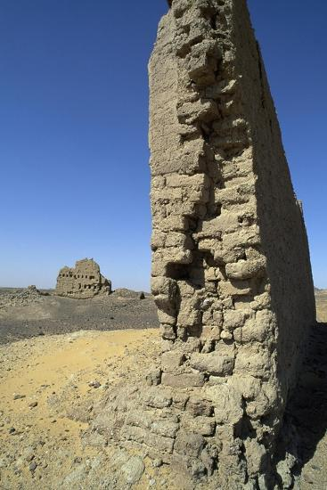 Remains of Roman Fortress of El Heiz, Giza, Egypt--Giclee Print