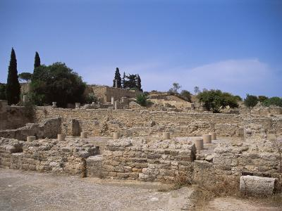 Remains of Roman Villas, Carthage, Unesco World Heritage Site, Tunisia, North Africa, Africa-Nelly Boyd-Photographic Print