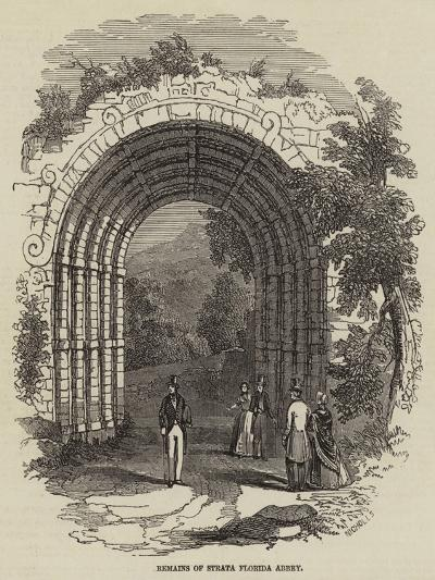 Remains of Strata Florida Abbey--Giclee Print