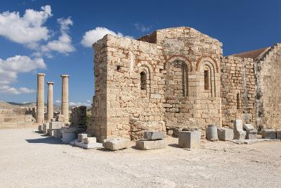 Remains of the Byzantine Church of Agios Ioannis on the Acropolis, South Aegean-Ruth Tomlinson-Photographic Print