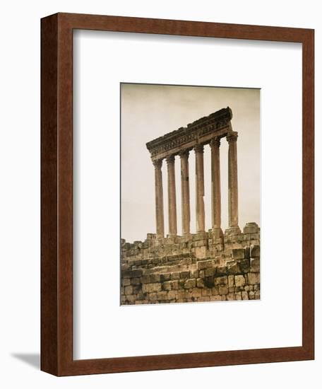 Remains of the Jupiter Temple-Maynard Owen Williams-Framed Photographic Print
