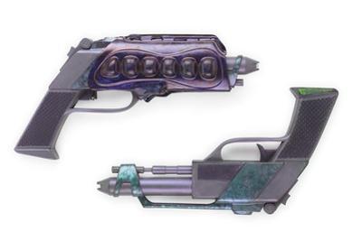 Reman Prop Pistols, Made for 'Star Trek: Nemesis', C.2002