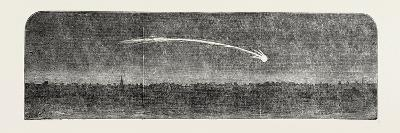 Remarkable Meteor Seen from the London and Blackwall Extension Railway, UK, 1851--Giclee Print