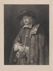 Jan Six by Rembrandt Harmensz. van Rijn