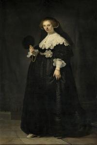 Portrait of Oopjen Coppit, 1634 by Rembrandt Harmensz. van Rijn