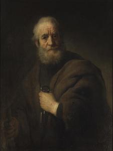 St Peter, 1632 by Rembrandt Harmensz. van Rijn