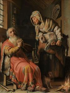 Tobit and Anna with the Kid, 1626 by Rembrandt Harmensz. van Rijn
