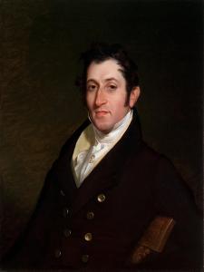 Colonel Mendes Cohen, C.1838 by Rembrandt Peale