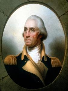 George Washington (1732-9), First President of United States (1789-9) by Rembrandt Peale