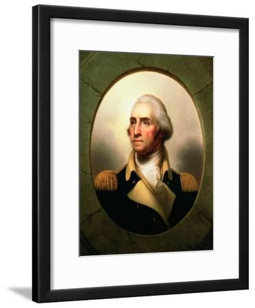 Porthole Portrait of George Washington, 1795