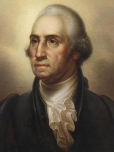 Portrait of George Washington, 1795 by Rembrandt Peale