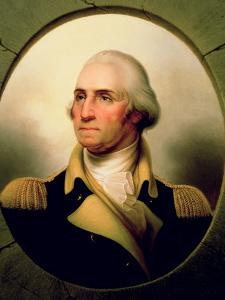 Portrait of George Washington, 1853 by Rembrandt Peale