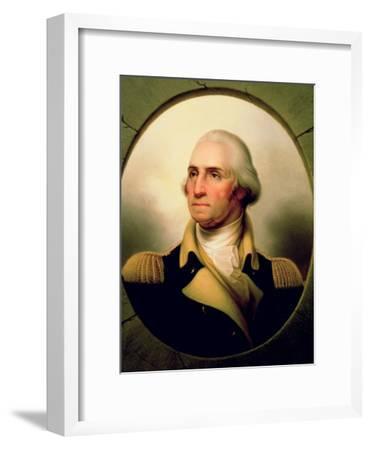 Portrait of George Washington, 1853