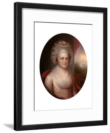 Portrait of Martha Washington (1731-180)