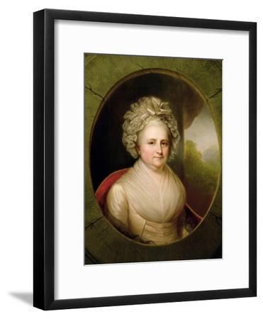 Portrait of Martha Washington