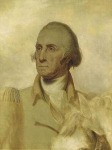 Sketch for a Portrait of George Washington by Rembrandt Peale