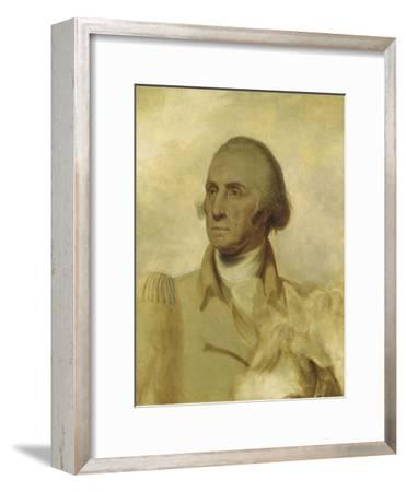 Sketch for a Portrait of George Washington