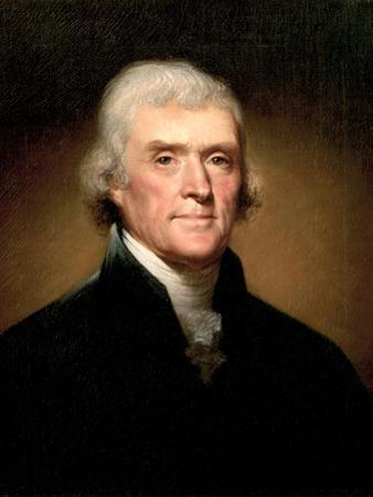 Thomas Jefferson by Rembrandt Peale