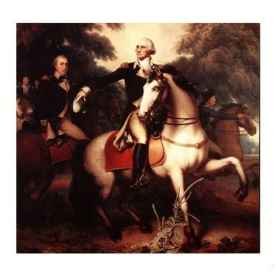 Washington before Yorktown, 1781 by Rembrandt Peale