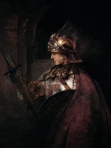A Man in Armour, 1655 by Rembrandt van Rijn