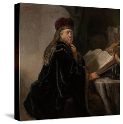 A Scholar Seated at a Desk (Scholar at His Stud)